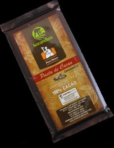 Pasta de cacao tableta
